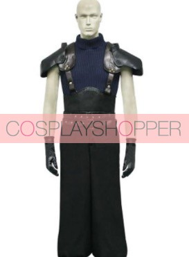 Final Fantasy VII 7 Zack Fair Cosplay Costume