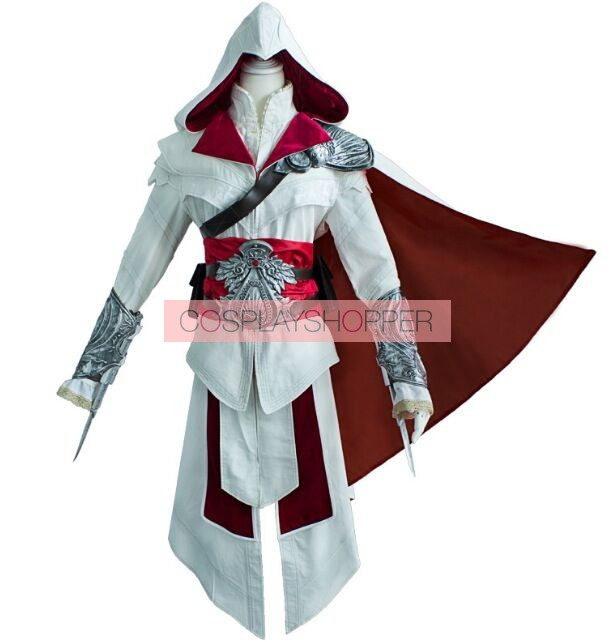 Ezio Auditore Da Firenze Cosplay Costume Assassin S Creed Brotherhood Ezio Auditore Da Firenze Cosplay Costume For Sale