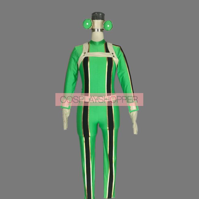 My Hero Academia Tsuyu Asui Froppy Cosplay Costume