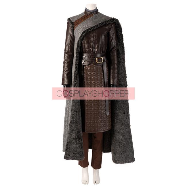 Game Of Thrones Season 8 Arya Stark Cosplay Costume Version 2