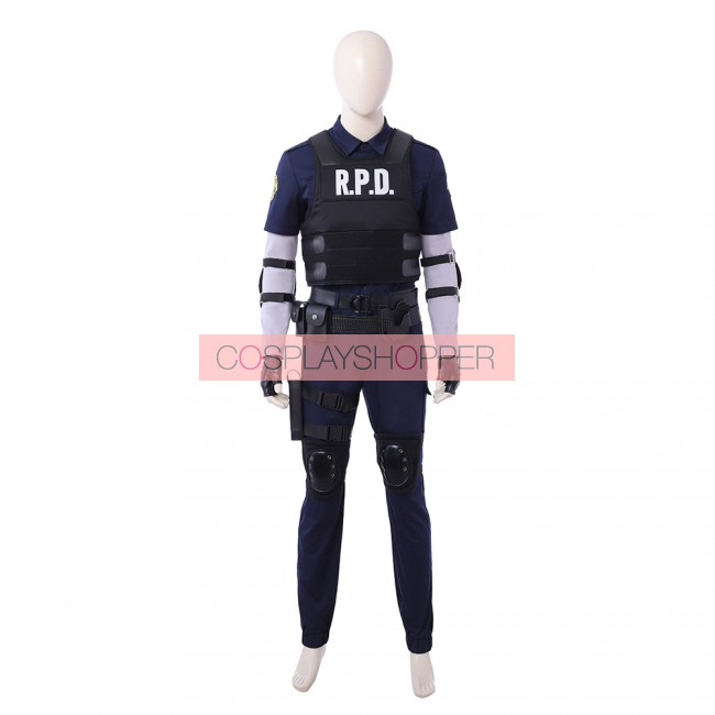 Resident Evil 2 Remake Leon S Kennedy Cosplay Costume