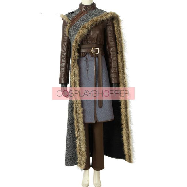 Game Of Thrones 8 Arya Stark Cosplay Costume