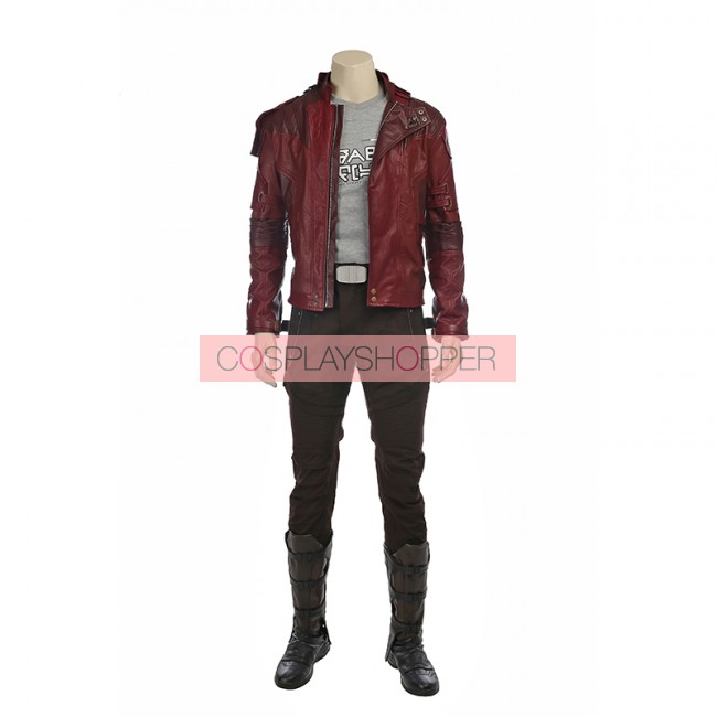2 Peter Quill Star Lord Cosplay Costume Handmade Guardians of the Galaxy Vol