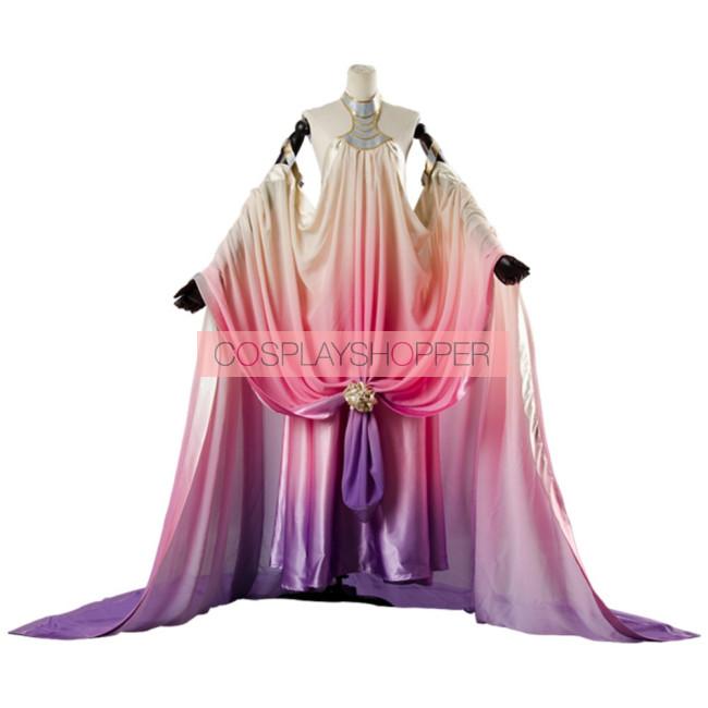 Star Wars Episode Iii Revenge Of The Sith Padme Amidala Lake Dress Cosplay Costume For Sale