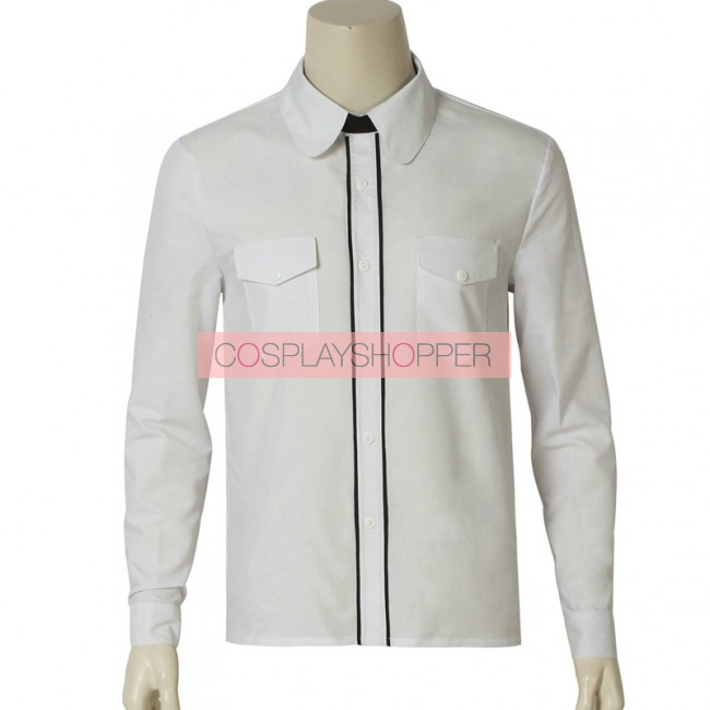 Far Cry 5 Joseph Seed The Father Jacket Shirt uniform Cosplay costume