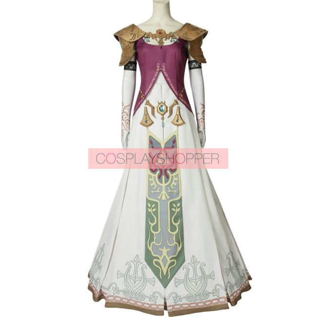 The Legend Of Zelda Twilight Princess Princess Zelda Cosplay Costume