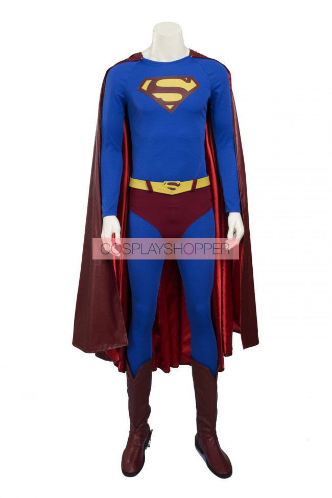 Superman Costume Superman Returns Cosplay Costume Custom Made Halloween Outfit