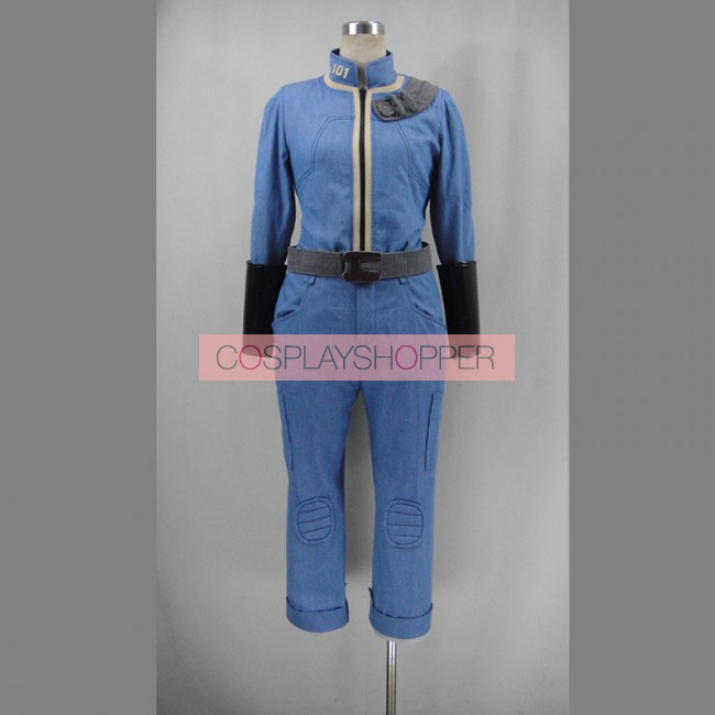 Fallout 3 Vault Uniform Cosplay Costume