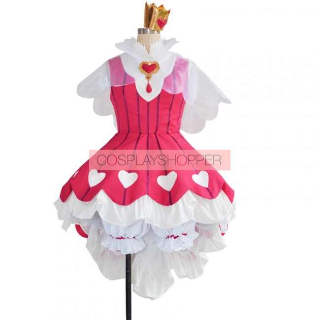 Card Captor Sakura Clear Card Sakura Kinomoto Pink Dress  Cosplay Costume