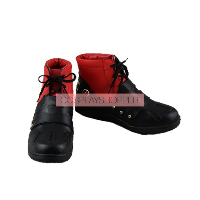 High Quality Midoriya Izuku Red Cosplay Shoes My Hero Boku no Academia Cos Boots