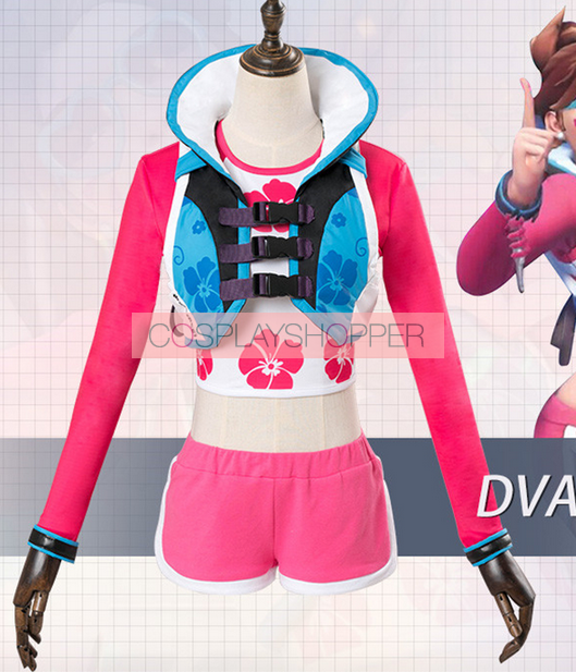 Sale Price! Year of the Rooster D.Va Hana Song overwatch Cosplay Costume