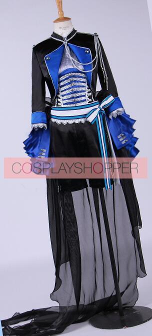 2017 Black Butler Aniplex Book of Murder Ciel Cosplay Costume Gothic Coat