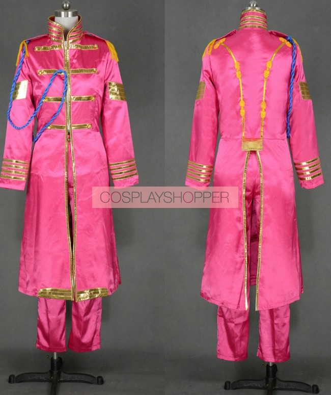 The Beatles Sgt Pepper Lonely Hearts Club Band John Lennon Cosplay Costume For Sale