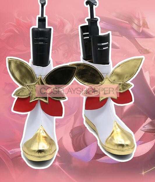 LOL League of Legends Star Guardian Jinx Shoes Cosplay Boots Cos Shoes