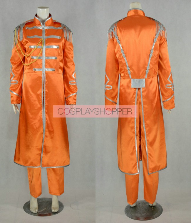 The Beatles Sgt Pepper Lonely Hearts Club Band George Harrison Cosplay Costume For Sale
