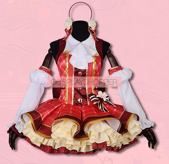 a12cefdee Love Live! School Idol Festival Maki Nishikino Flower Bouquet Ver. Cosplay  Costume · Zoom