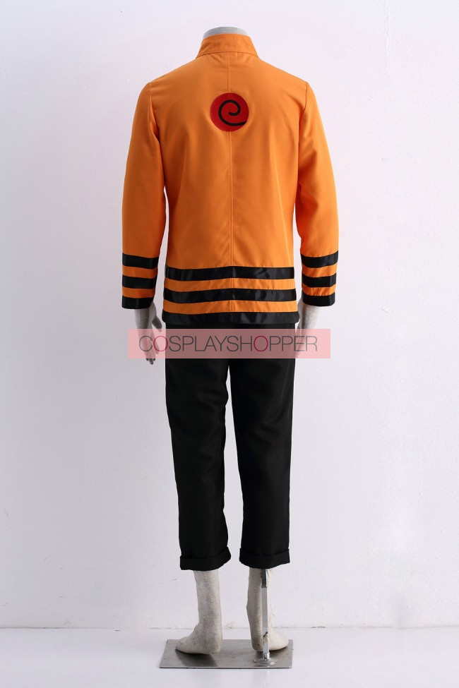 Naruto Seventh Hokage Naruto Uzumaki Cosplay Costume for Sale