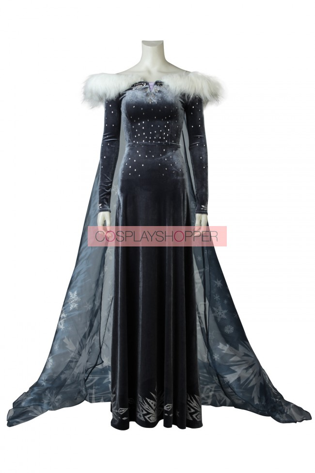 Olaf's Frozen Adventure Princess Anna Cosplay Costume for Sale