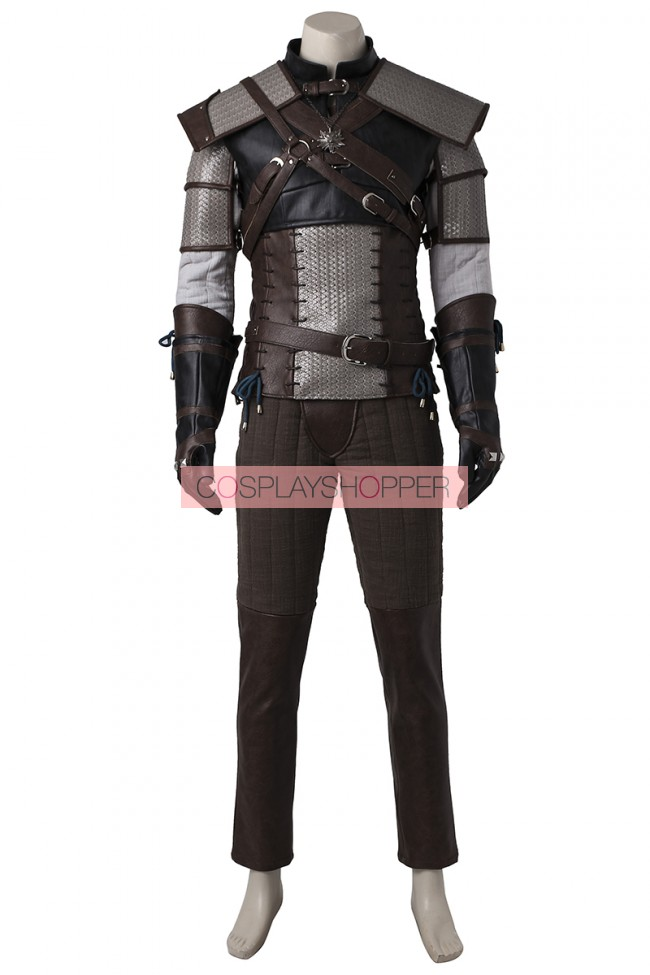 The Witcher 3: Wild Hunt Geralt of Rivia Cosplay Costume ...