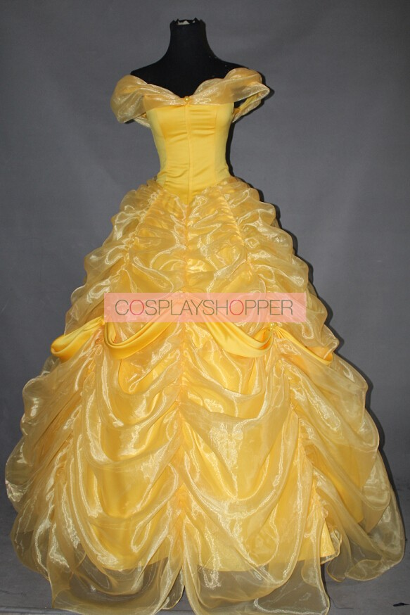 Beauty And The Beast Princess Belle Dress Cosplay Costume A For Sale