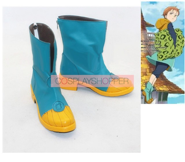 Cosplay Boots Shoes for The Seven Deadly Sins King