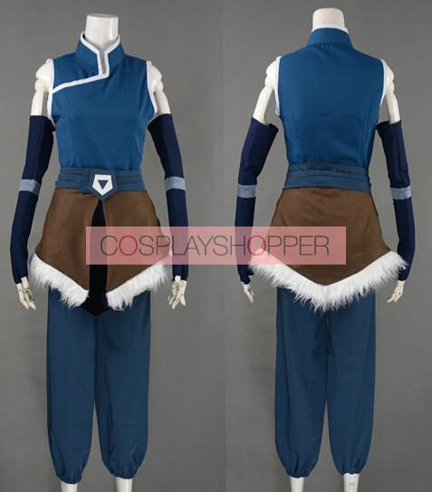 Korra Season 4: Avatar: The Legend Of Korra Season 4 Korra Cosplay Costume