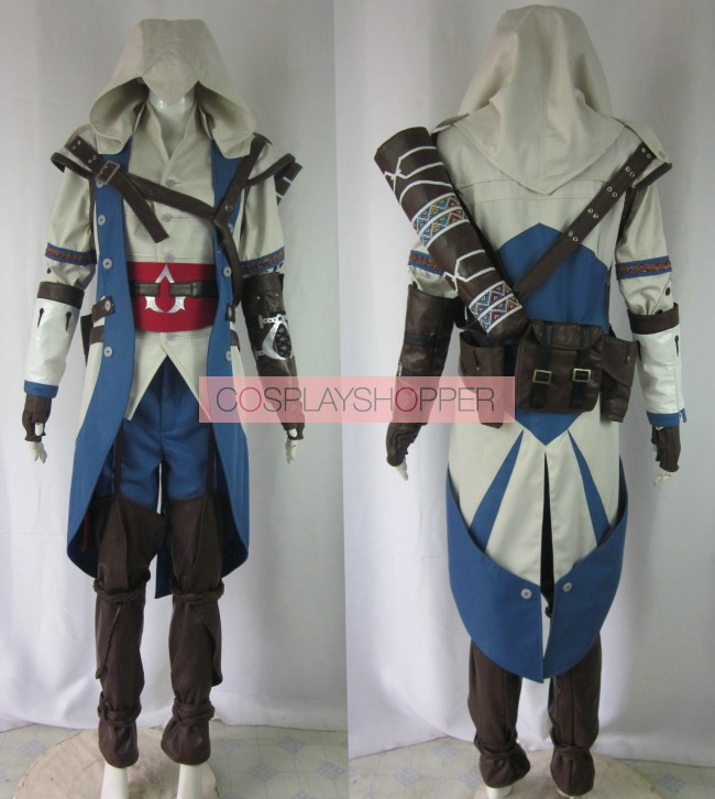 Assassin's Creed III Connor Kenway Cosplay Costume For Sale