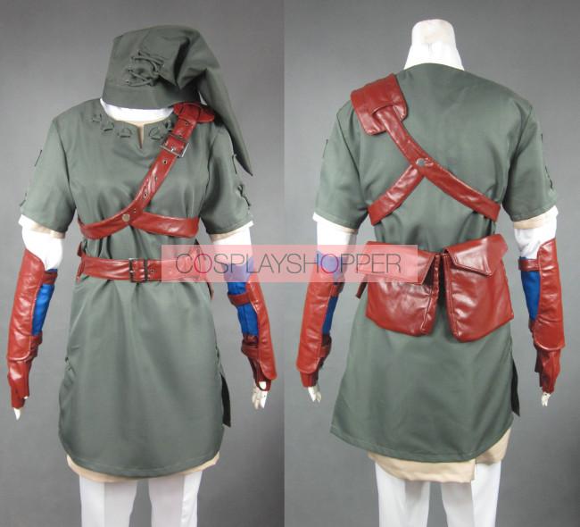 9b506bfb6 The Legend of Zelda Link Cosplay Costume for Sale