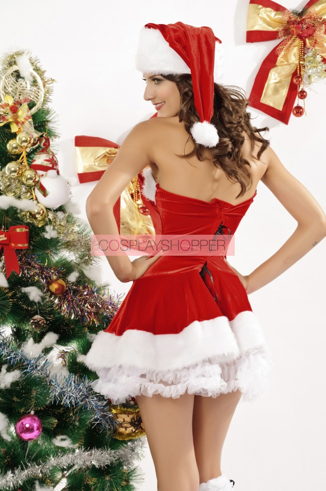 Hot Santa Strapless Wo...