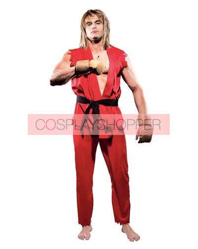 Ken Cosplay Costume High Quality Street Fighter Ken Costume For Sale