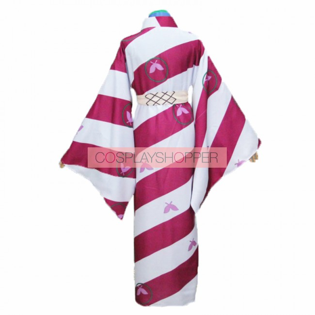 InuYasha Kagura Cosplay Costume Custom Made