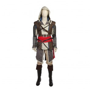 Deluxe Assassin's Creed IV: Black Flag Edward Kenway Cosplay Costume
