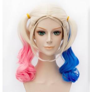 45cm Batman Suicide Squad Harley Quinn Cosplay Wig
