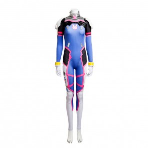Deluxe Overwatch D.VA Jumpsuit Cosplay Costume
