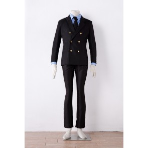 One Piece Vinsmoke Sanji Cosplay Costume