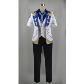 Ensemble Stars Judge! Black and White Duel Mao Isara Cosplay Costume