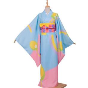 Miss Kobayashi's Dragon Maid Kanna Kamui Kanna Kobayashi Kimono Cosplay Costume