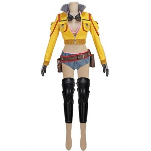 Final Fantasy XV Cindy Aurum Cosplay Costume Version 2