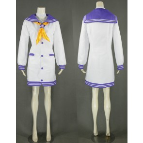 Hyperdimension Neptunia Nepgear Purple Sister Cosplay Costume