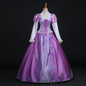 Disney Tangled Rapunzel Dress Cosplay Costume