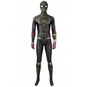 2021 Movie Spider-Man: No Way Home Peter Parker Jumpsuit Cosplay Costume , $83.33 (was $125.00)