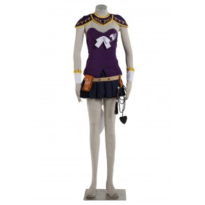 Fairy Tail Lucy Heartfilia Cosplay Costume (Purple)
