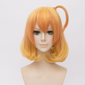 Yellow 35cm Freyja Wion Macross Delta Cosplay Wig