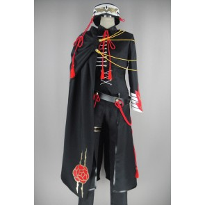 Code Geass Code Black Lelouch Lamperouge Cosplay Costume