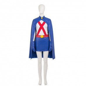 Young Justice Miss Martian Cosplay Costume