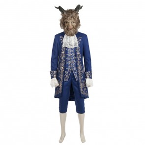 2017 New Movie Beauty and the Beast Beast Cosplay Costume - Version 2