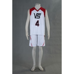 Kuroko no Basuke LAST GAME Team Vorpal Swords No.4 Cosplay Costume