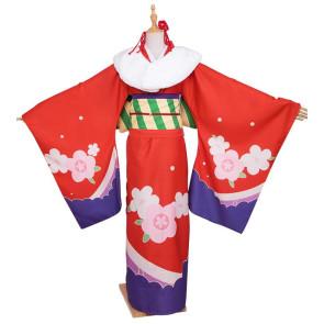 Miss Kobayashi's Dragon Maid Tohru Kimono Cosplay Costume