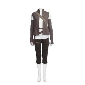 Star Wars: Episode VIII The Last Jedi Rey Cosplay Costume