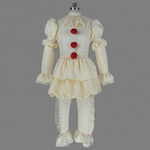 Movie IT Stephen King's It Pennywise the Clown Cosplay Costume Version 2